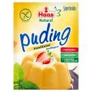 Haas Natural gluténmentes vaníliaízű pudingpor 40 g