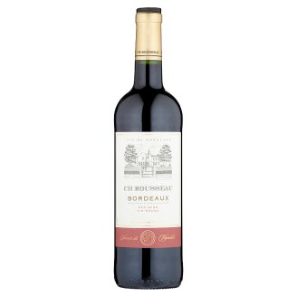 CH Rousseau Bordeaux Dry Red Wine 13% 750 ml