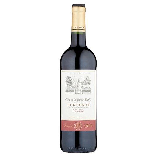CH Rousseau Bordeaux Dry Red Wine 13% 750 ml