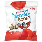 Kinder Schokobons Milk Chocolate Bonbons Filled with Milky Cream and Hazelnut Pieces 46 g