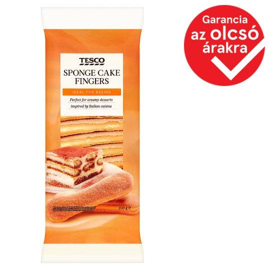 Tesco Sponge Cake Fingers 200 g