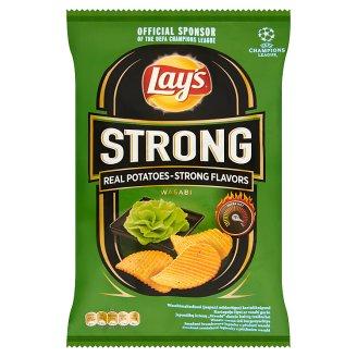 Lay's Strong Wasabi torma ízű burgonyachips 77 g