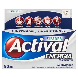 Béres Actival Energia Tablets 90 pcs 118 g
