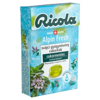 Ricola Alpin Fresh Swiss Sugar-Free Herb Drops 40 g