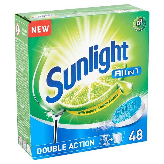 SUNLIGHT All in One Gépi Mosogatótabletta 48 db