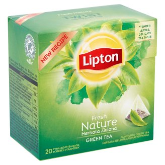 Lipton natúr zöld tea 20 piramis filter