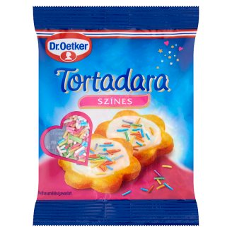 Dr. Oetker Coloured Sugar Strands Edible Sugar Decoration 30 g