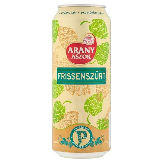 Arany Ászok Freshly Filtered Lager Beer 4,3% 0,5 l