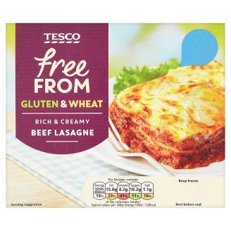 Tesco Free From gyorsfagyasztott lasagne 300 g