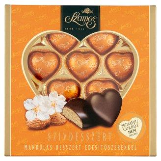 Szamos Szívdesszert mandulás desszert édesítőszerekkel 10 db 130 g