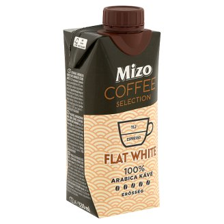 Mizo Coffee Selection Flat White UHT Semi-Fat Coffee Milk Drink 330 ml