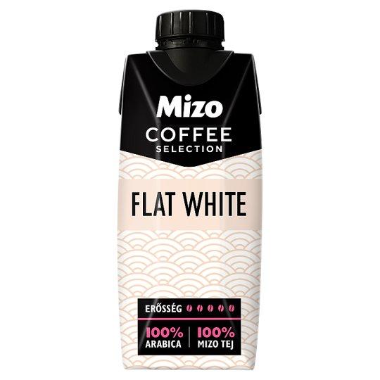 Mizo Coffee Selection Flat White UHT félzsíros kávés tej 330 ml