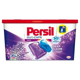 Persil Color Duo Caps gél mosószer kapszula színes ruhákhoz, levendula illattal 36 mosás