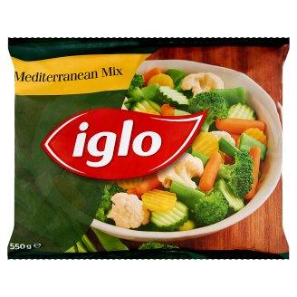Iglo gyorsfagyasztott mediterrán zöldségkeverék 550 g