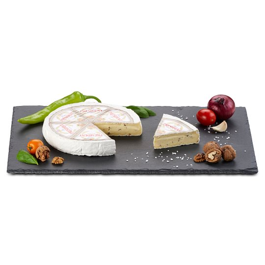 Président Brie Soft Cheese with Walnut