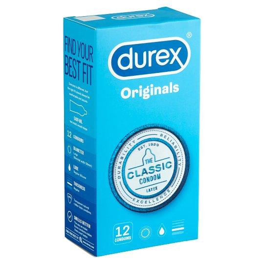Durex Classic Condoms 12 pcs