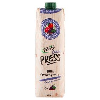 RIO FRESH 100%-os gyümölcslé, többféle gyümölcs felhasználásával 1 l