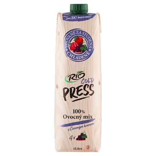 RIO FRESH 100% Juice from Several Fruits 1 l