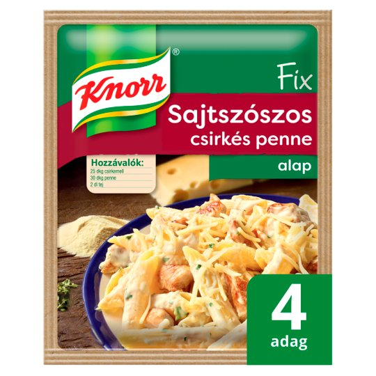 Knorr Fix Chicken Penne with Cheese Sauce Base 40 g