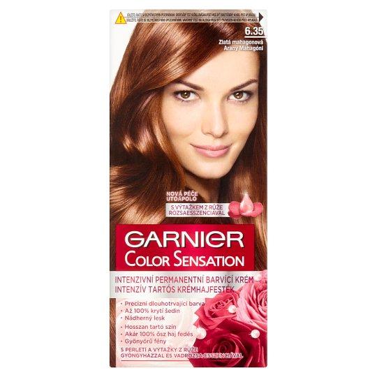 image 1 of Garnier Color Sensation 6.35 Golden Mahogany Intensive Permanent Hair Colorant