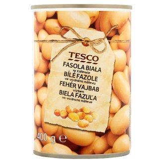 Tesco White Beans in Water 400 g