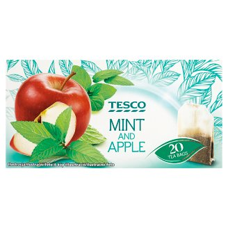 Tesco Mint and Apple Tea 20 Tea Bags 30 g
