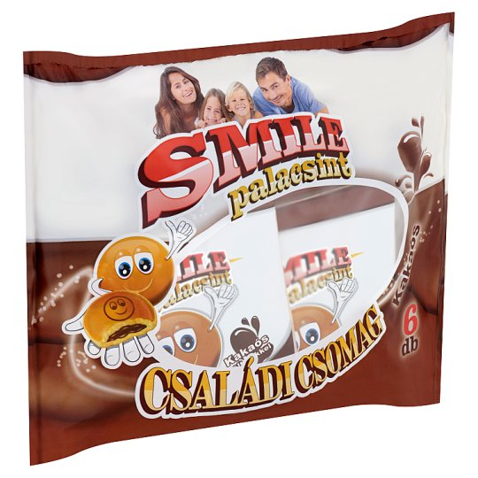 Smile Pancake with Cocoa Filling 6 pcs 240 g