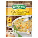 Lacikonyha Hen Soup with Spiral Noodles 55 g