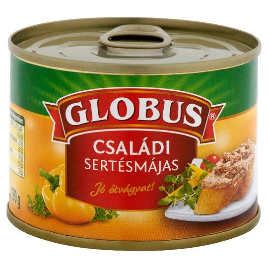Globus Family Size Pork Liver Pate 190 g