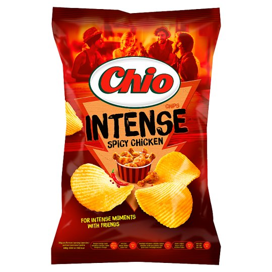 Chio Intense Potato Chips with Chili and Chicken Flavour 70 g