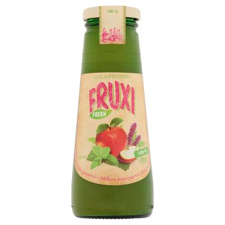 Fruxi Fresh Apple and Peppermint Natural Fruit Juice with Vegetable Extract 250 ml