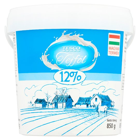 Tesco Sour Cream 12% 850 g