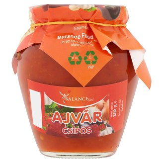 Balance Food Hot Ajvar 300 g