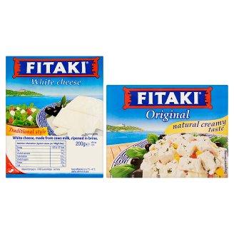 Fitaki sólében érlelt zsíros lágy sajt 200 g