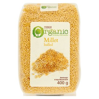 Tesco Organic Husked Millet 400 g