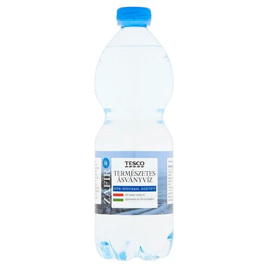 Tesco Zafír szén-dioxiddal dúsított természetes ásványvíz 0,5 l