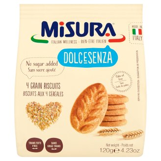 Misura No Sugar Added Grain Biscuits with Sweeteners 120 g