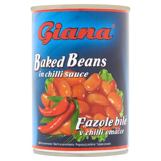 Giana Baked Beans in Chilli Sauce 410 g