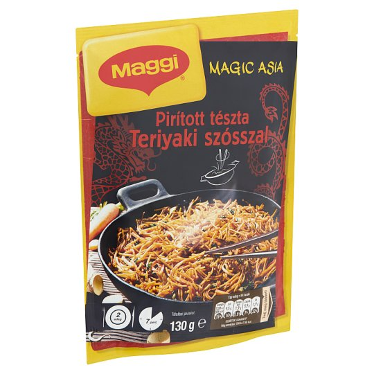 Maggi Magic Asia Fried Pasta with Teriyaki Sauce 130 g
