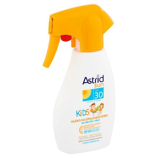 Astrid Sun Kids gyermek naptej spray SPF30 200 ml