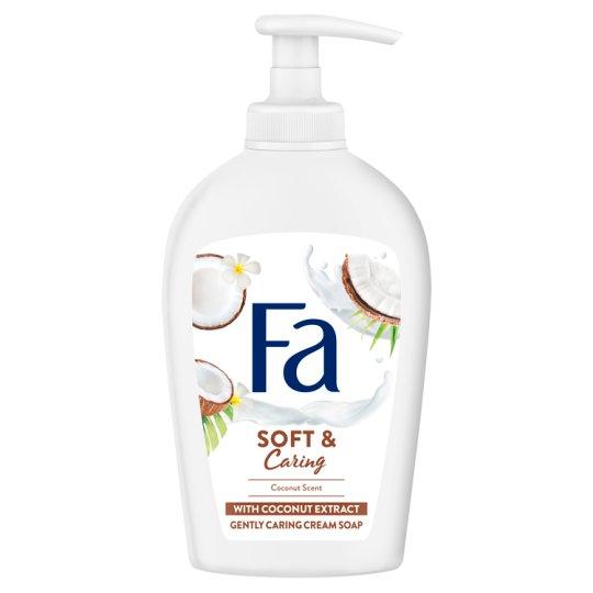 Fa Soft & Caring Coconut folyékony krémszappan 250 ml