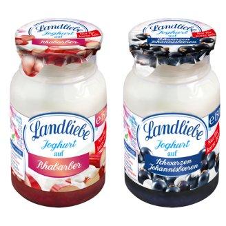 Landliebe rebarbarás vagy feketeribizlis joghurt 150 g