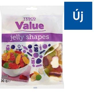 Tesco Value Mixed Fruit Flavoured Gums 500 g