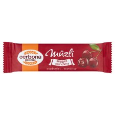 image 1 of Cerbona Sour Cherry Cereal Bar 20 g