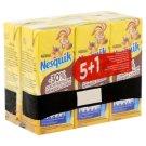 Nesquik UHT zsírszegény kakaós tejital vitaminokkal és ásványi anyagokkal 6 x 200 ml