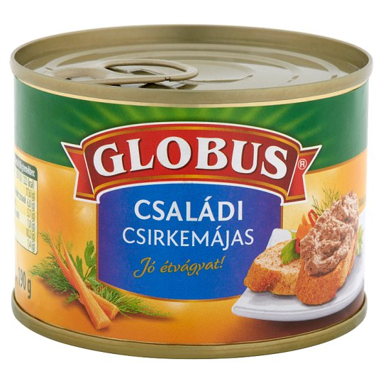 Globus Family Size Chicken Liver Pate 190 g