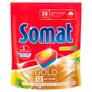 Somat Gold Lemon & Lime gépi mosogatószer tabletta 36 db 691,2 g