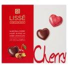 Lissé Marzipan-Cherry Heart Dipped in Dark Chocolate 96 g