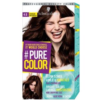 Schwarzkopf #Pure Color Permanent Hair Colorant 4.6 Dark Chocolate