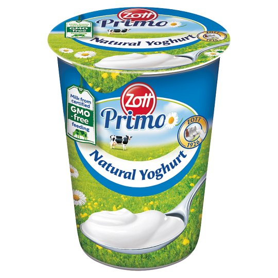 Zott Primo natúr élőflórás joghurt 150 g